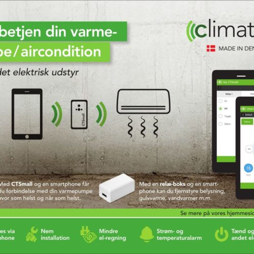 Climatech sms styring